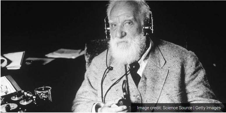 """Mr. Watson, come here; I want you"" – Alexander Graham Bell"